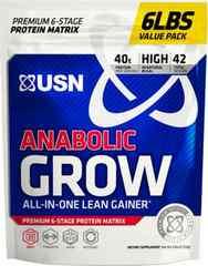 高品質USNアナボリックグロウプロテイン特大3kg★ウエイトゲイナーウエイトゲインサプリメント