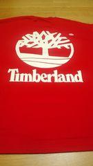 LA直輸入!TimberLandティンバーランド赤RED白プリ4XLXXXXL バックプリ