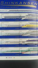 新幹線鉄道開業50周年82円切手10枚シート新品未使用品  JR  国鉄