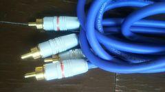 AUDEA OFC HIGH 24金メッキ RCA ケーブル 2メートル