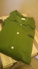 WEGO◆BROWNY◆カーキ◆テロ◆シャツ◆未着用◆男女