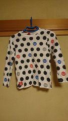 ベビードール☆ドットな長袖Tシャツ☆130センチ♪