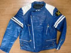 ヴィンテージ 70年代 フランス製 ライダースジャケット L