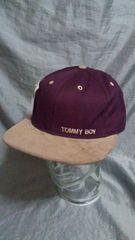 ☆トミーボーイ TOMMY BOY キャップ 未使用品 デッド 90s hip hop ヒップホッ