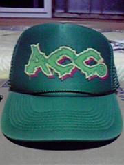 美品 ACC メッシュcap サイズフリー