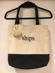 SHIPS/トートバッグ/ボア*