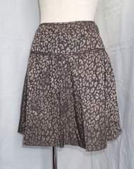■BANANA REPUBLIC■レオパード柄 ミニスカート/サイズ2