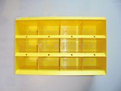 非売 NGKスパークプラグケースボックス棚ラックインテリア日本製