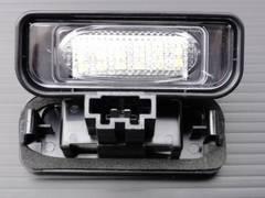 ベンツキャンセラー内蔵SMD36発LEDナンバー灯w220S600LS65L
