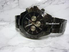 新品 定形外可能 腕時計 オールブラック/ロレックス好きに