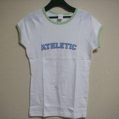 未使用 ロゴ ストレッチ半袖 Tシャツ S