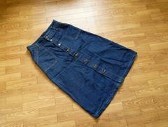美品☆FREE'S MART(フリーズマート)デニムロングスカート