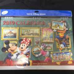 2019年ディズニーメイン柄壁掛けカレンダーTDRミッキーミニー