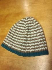 上質スコットランド製★MHLマーガレットハウエルのニット帽