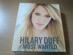 ヒラリー・ダフCD「モースト・ウォンテッド」HILARY DUFF初回盤