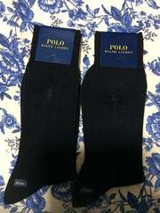 ポロラルフローレン!紳士靴下!新品サイズ25〜27センチ二足