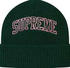 Supreme Loose Gauge Arc Beanie Green