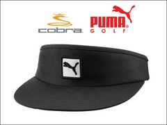 PUMA サンバイザー PMGO2108 CAT PATCH VISOR BLK