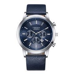 腕時計 メンズ  ネイビー シンプル