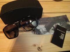 新品定価37000☆イニシウムブラックサングラス♪プラチナム 清春ブラックフライ