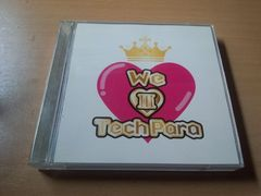 CD「WE LOVE TECHPARA 3 ウィー・ラヴ・テクパラ3」DVD付●