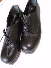 モードカオリ 24 本革 クロ靴 定形外700