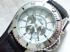 8029/Backsダイバー型デザインメンズ腕時計ホワイトカラーダイヤル格安