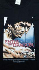 未使用!!燃えよドラゴン製作40周年記念リマスター版ブルーレイ付属Tシャツ