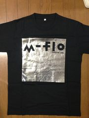 m-flo「SQUQRE ONE」LIVE購入 レア Tシャツ(黒)