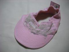 wn21 女 BILLABONG ビラボン ニットサンバイザー ピンク