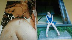 ★小林明美★グラビア雑誌切抜き・10P。