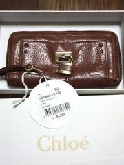 クロエ◆確実本物◆パディントン♪ラウンドファスナー長財布