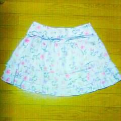 定価2万円 アプワイザーリッシェ 花柄 ミニスカート M スカート