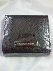 メルセデス ベンツ オリジナル コインケース ブラック 財布 ヘビ柄 財布 プレート 箱