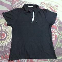 キッズストライプ ライン ポロシャツ 150�p