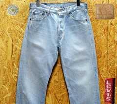 W30(78cm)廃盤◆リーバイス501-01 ・股下80cm