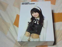 DVD 水樹奈々 NANA MIZUKI LIVE GAMES×ACADEMY RED&BLUE BOX付