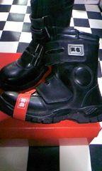 寅壱【0074】長マジック安全靴、黒26.5cm