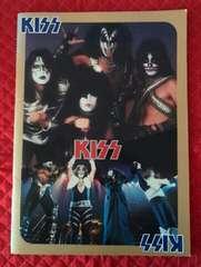 kISS 1978年  日本公演 コンサートパンフレット 当時物