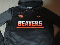 Nike【THERMA-FIT】OREGON ST BEAVERSパーカーUS L