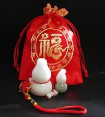 福袋★瓢箪(ひょうたん)福セット ホワイトジェード+翡翠