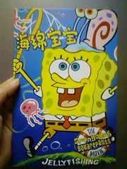 新品★『スポンジボブ』可愛い〜ノート