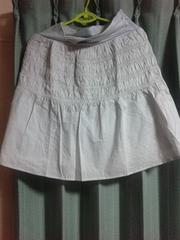 マタニティー用スカート★新品★ライトグレー★