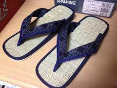 ■日本製 奈良県産 雪駄 畳せった ぞうり 男女兼用 部屋履きに