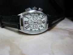 訳あり新品 腕時計 クロノグラフ風/フランクミュラー好きに