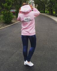 新品☆背中ハートロゴ♪パーカー ピンク