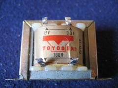 トヨデン 小型トランス HT-1203 電気部品に