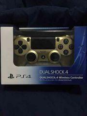 送料込み 新品 デュアルショック4 ゴールド PS4 コントローラー