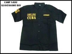 XXXL(3XL)新品刑務所ワークシャツ CUBA ストリートBBOYービッグサイズローライダー