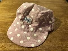 リーLee☆パープルドット柄50cm帽子
